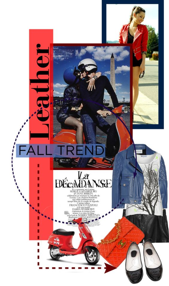 """""""Fall Trend: Leather"""" by lisabedow on Polyvore"""