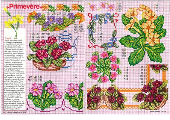 Gallery.ru / Фото #102 - Encyclopedie Fleurs Arbres et Feuilles - patrizia61