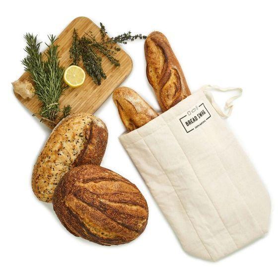 long bread bag Bread bag,baguette bag zero waste,reusable bag,uk made cotton bread bag