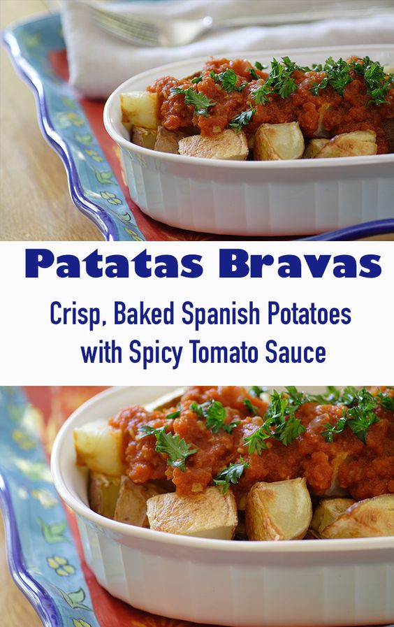 Crispy baked potatoes, Spicy and Baked potatoes on Pinterest