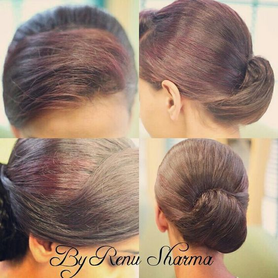 Simple hairstyle by Renu Sharma   Www.Kikisbodycare.com