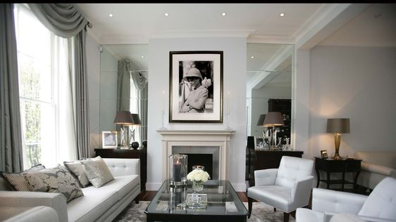 Interiors london and notting hill on pinterest for Luxury residential interior designers london