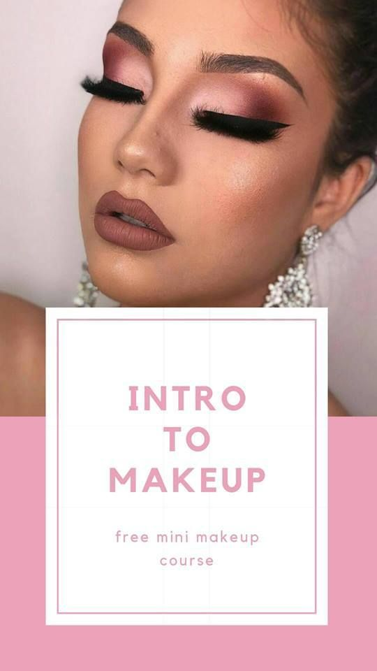 Free Mini Makeup Course Intro To Makeup Artistry This Free Makeup Course Is Available To Anyone Online We Are Going Ba Makeup Course Mini Makeup Free Makeup