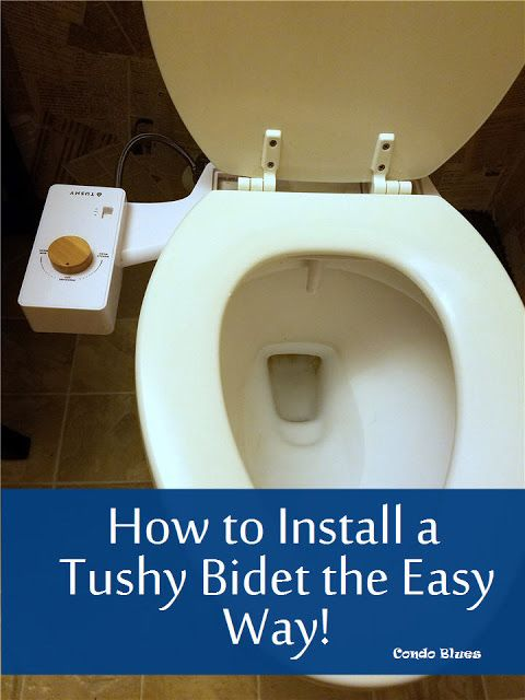 How To Install A Bidet Attachment Bidet Toilet Seat