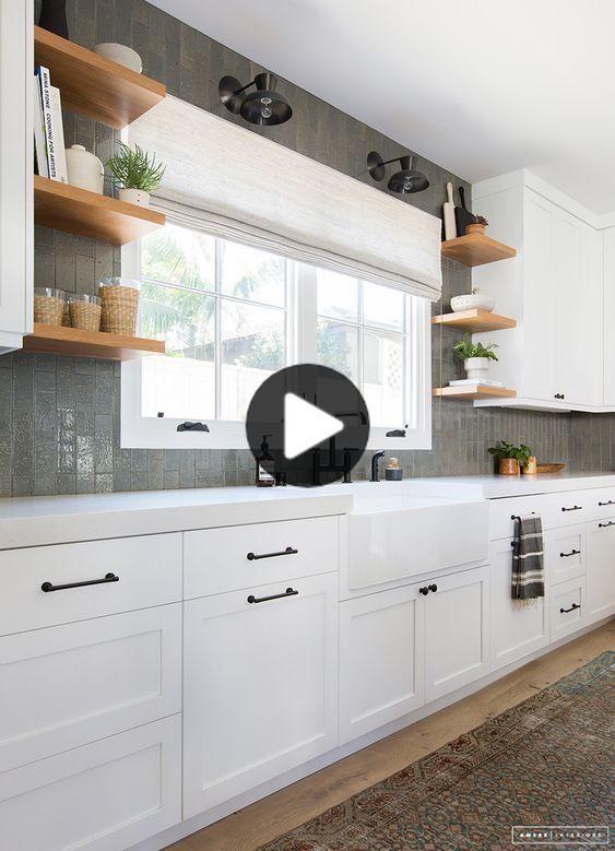 46 Saubere Weiss Kitchen Cabinet Remodel Amp Design Ideen