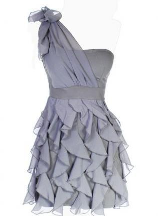 .: Bridesmaid Dresses, Dream Closet, One Shoulder, Chandelier Frill