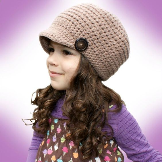 All Ages Newsboy Cap Pattern~$1.99