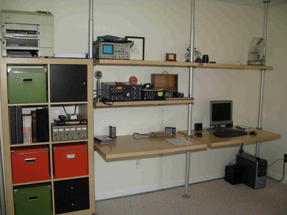 IKEA Hackers: Workstation Stolmen Hack (standing desk)