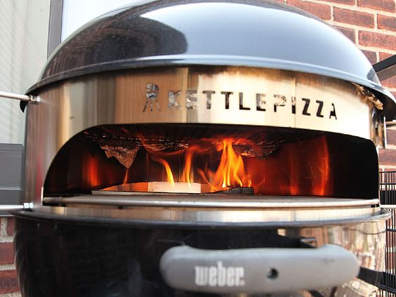 pizza backyards and weber grill on pinterest. Black Bedroom Furniture Sets. Home Design Ideas