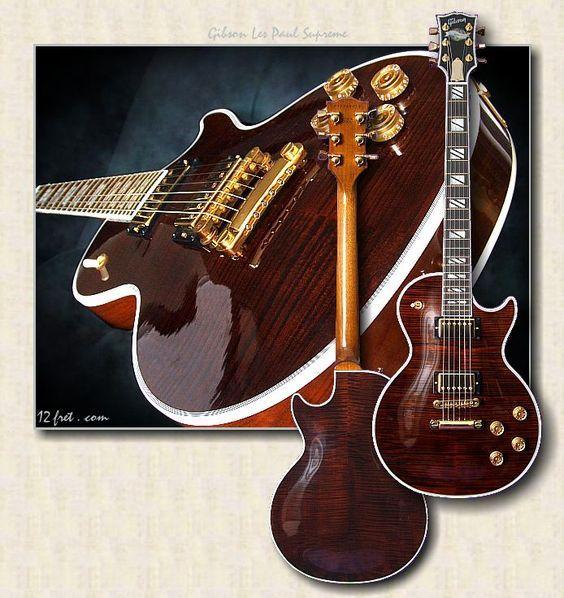 Gibson Les Paul Supreme Root Beer Gibson Guitars Guitar Custom Electric Guitars