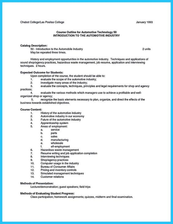 cool Delivering Your Credentials Effectively on Auto Mechanic - resume for mechanic