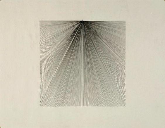 Matt Niebuhr  series: nine squares graphite on paper