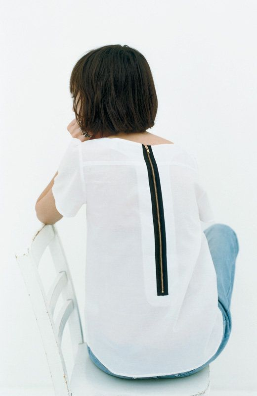 back zipper