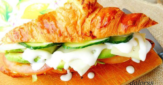 croissant, vegetal, croisant relleno vegetal, recetas sencillas, recetas fáciles, recetas saladas fáciles, cocina rápida, gastronomía, tupper, recetas en 20 minutos, dolorss, blog de cuina