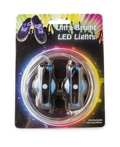 LED Tube Lights Blue - Awesome blue LED Tube Lights for your shoes, glow in the dark.