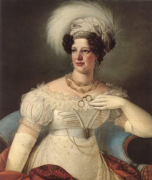 822 Countess Cecilia d'Auersperg by Giuseppe Tominz (Narodna Galerija, Ljubljana Slovenia: