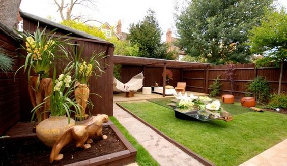 Small Garden Designs With Decking