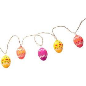 Easter String Lights Target : 10ct Multi Plastic Painted Eggs Mini String Lights : Target Mobile Easter Pinterest String ...