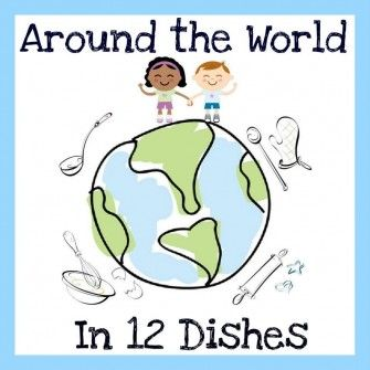 """""""Around the World in 12 Dishes"""" is a blogoperative of 12 amazing blogs that will teach about different cultures and countries, as well as a host of other benefits, from numeracy to science! Have a look at everybody's awesome posts and we can't wait for your comments!"""