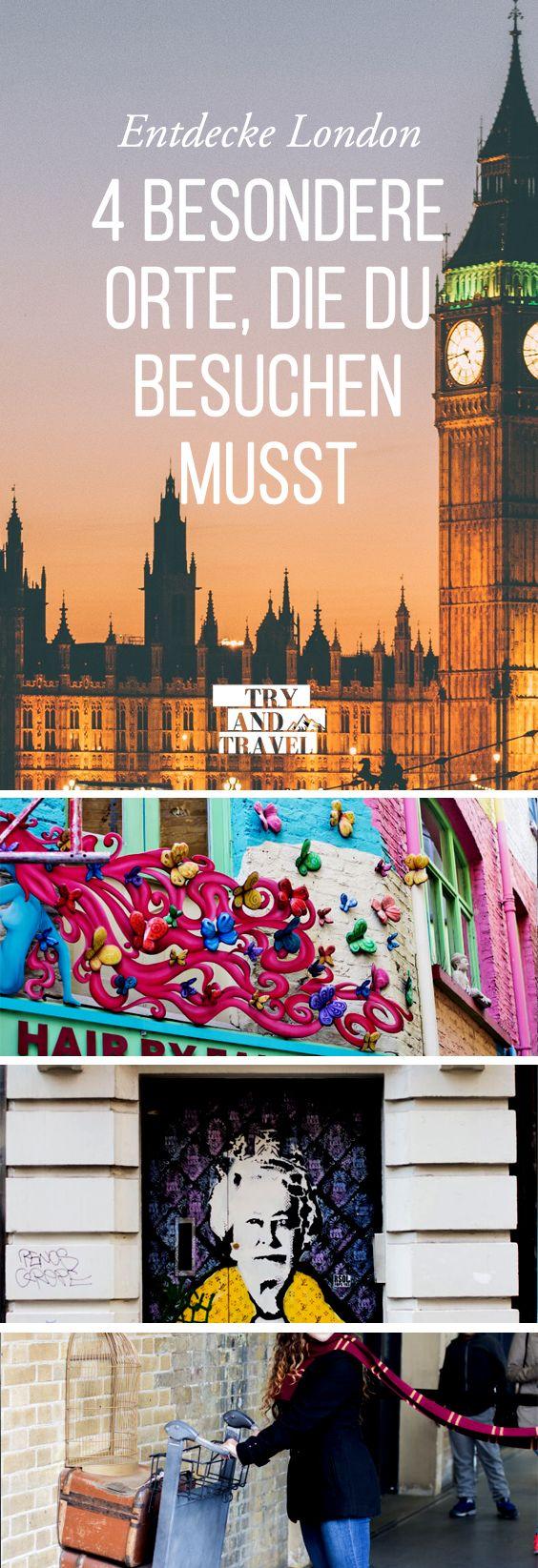 Das etwas andere London! 4 ganz besondere Orte zum Entdecken!