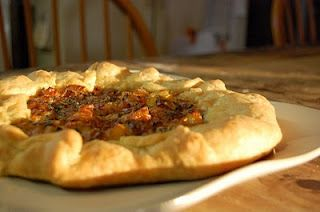 Butternut Squash and Caramelized Onion Galette | Tried and True ...