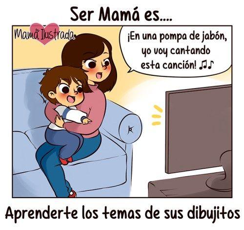 la magia de ser mamá
