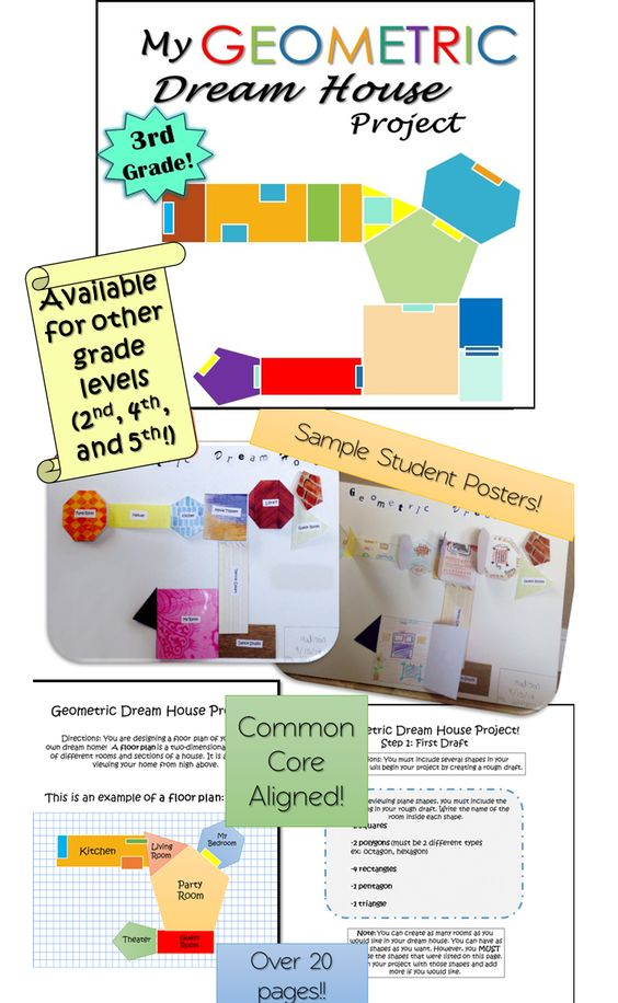 Geometry review worksheets 3rd grade