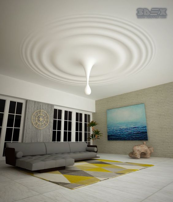 Modern False Ceiling Design For Living Room Made Of Gypsum Board If You Are Determined False Ceiling Design Ceiling Design Bedroom Ceiling Design Living Room
