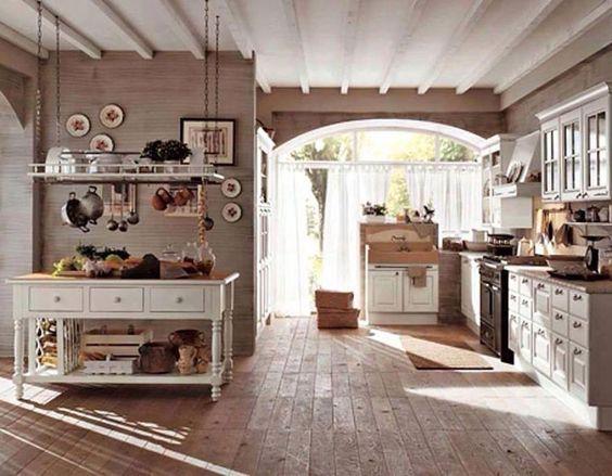 Cucina shabby chic in stile provenzale - romantico n.27 | Cucine ...