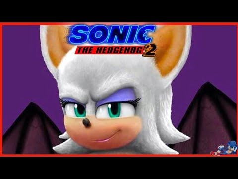 New Rouge The Bat Full Sonic The Hedgehog Movie 2 Trailer Teaser 2022 Billywhodraw Youtube In 2020 Hedgehog Movie Sonic The Movie Rouge The Bat