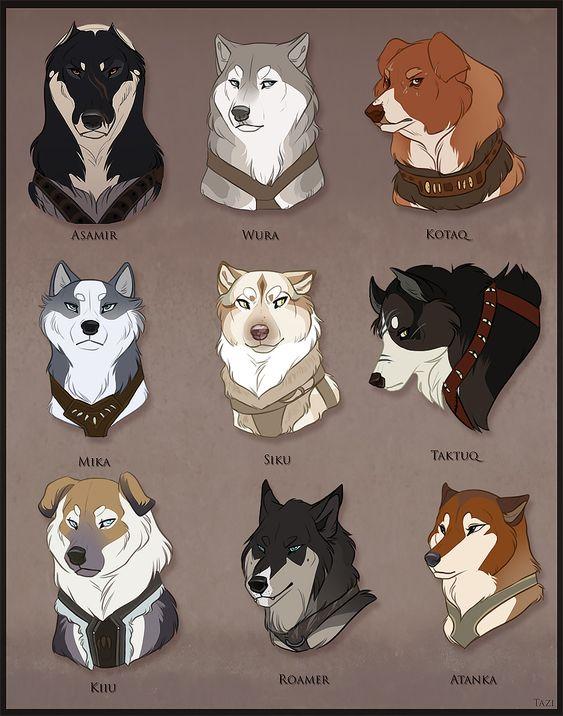 Sled Dog Names