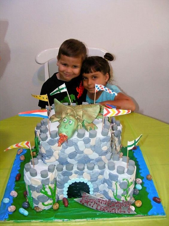 DAMIEN AT HIS 3RD BIRTHDAY PARTY WITH HIS NIECE CYNTHIA 2012