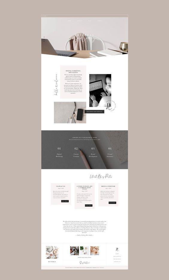 Website Design Media Specialists In 2020 Clean Web Design Modern Web Design Minimal Web Design