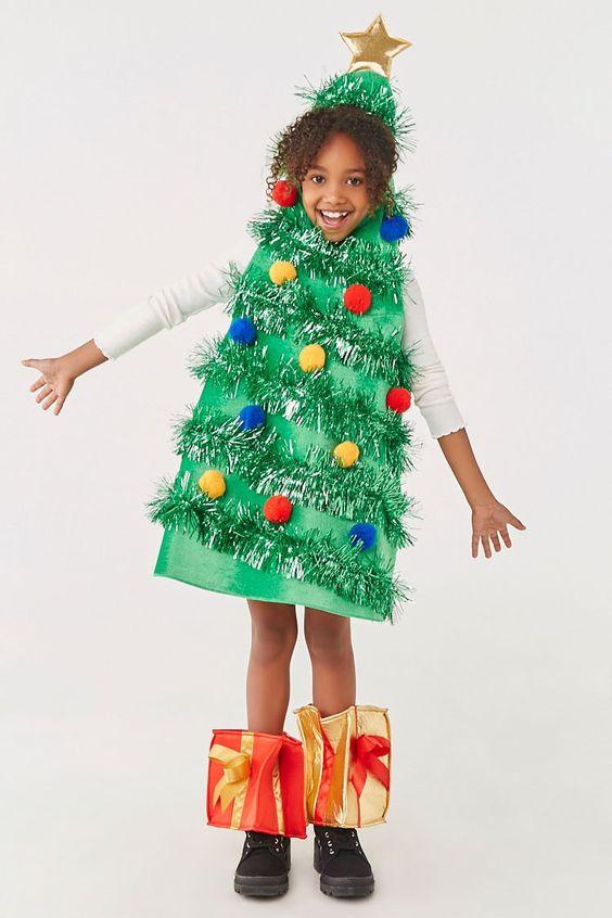 Girls Christmas Tree Dress Kids Affiliate Ad Christmas Girls Tree Kids Dress In 2020 Kids Dress Christmas Tree Dress Christmas Girl