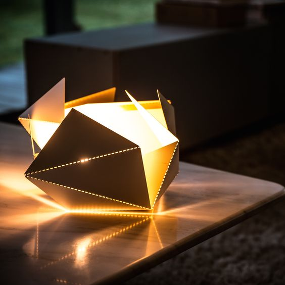 Elegant. Design. Personal. Customize your own Folding Lamp and create something unique. Go on https://www.kickstarter.com/projects/1303267585/folding-lamp and get yours! #foldinglamp #ThomasHick