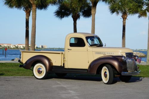 1946 Chevrolet Pickup Truck Half Ton Shortbox Old 1940 S Trucks For Sale Vintage Classic And Old Trucks Old Classic Trucks Old Trucks For Sale Chevrolet