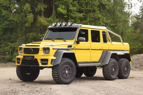 Mercedes-Benz G63 AMG 6×6 by #Mansory #mbhess #mbtuning