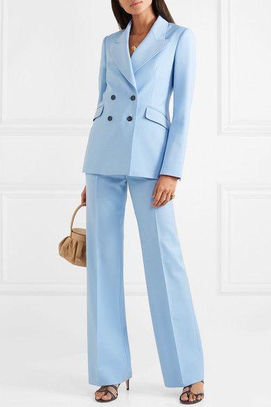 Gabriela Hearst | Vesta wool-blend wide-leg pants | NET-A-PORTER.COM