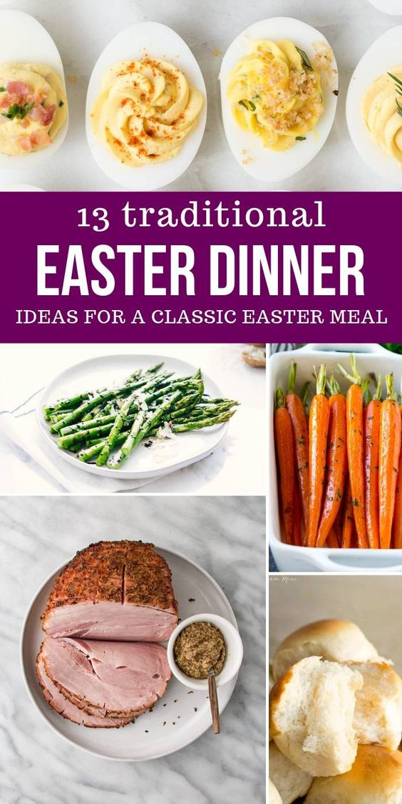 Traditional Easter Dinner Ideas - Passion For Savings