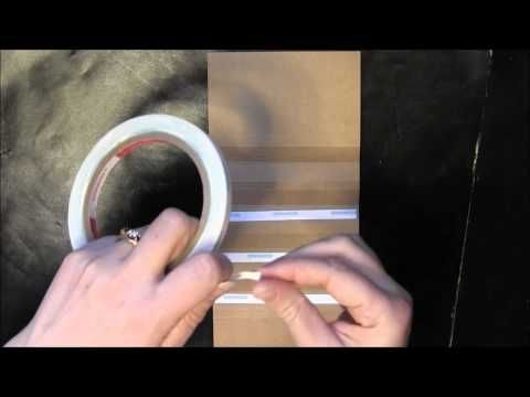 Hidden Hinge Binding Tutorial - in less than 4 minutes!!!