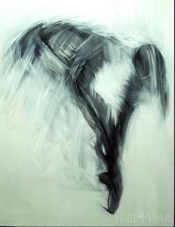 Abstracta del cuerpo femenino pintura al óleo belleza danza - Buscar con Google