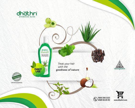 New care, New protection! Dheedhi shampoo gives a complete protection to your hair with the goodness of natural herbs.  Now love your hair.  Shop Online @ http://bit.ly/1hEaH8W #Dheedhi #Shampoo #HairCare #DhathriAyurveda