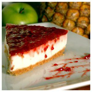 Deleitando al Paladar: Cheesecake de mora