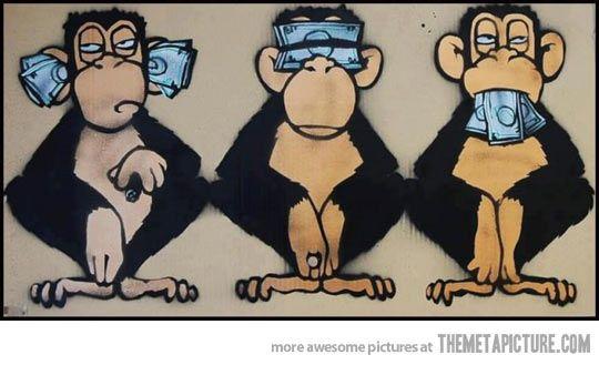 Image result for 3 wise monkeys