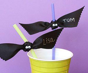 Straw Bats (easy!)
