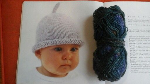 Very easy baby hat.... Debbie Bliss.... try it in different yarns. Looks good in Noro