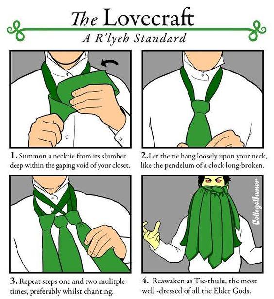 Dress like HP Lovecraft