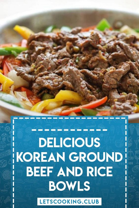 You Must Try Korean Ground Beef And Rice Bowls In 2020 Korean Ground Beef Recipes Using Ground Beef Beef And Rice