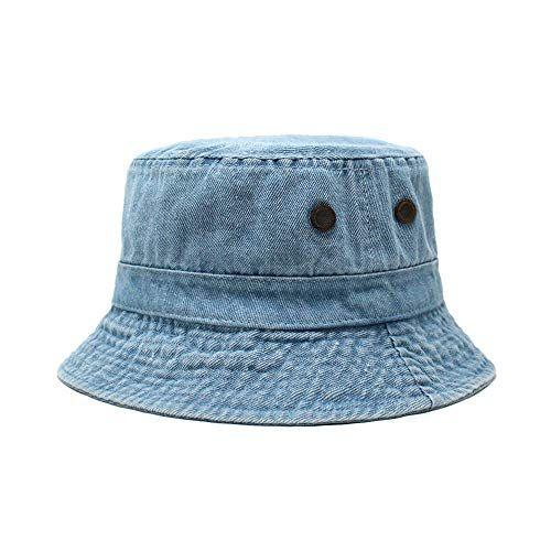 Chok Lids Cotton Bucket Hats Unisex Wide Brim Outdoor Summer Cap Hiking Beach Sports Chok Lids Bucket Hat Style Bucket Hat Summer Cap