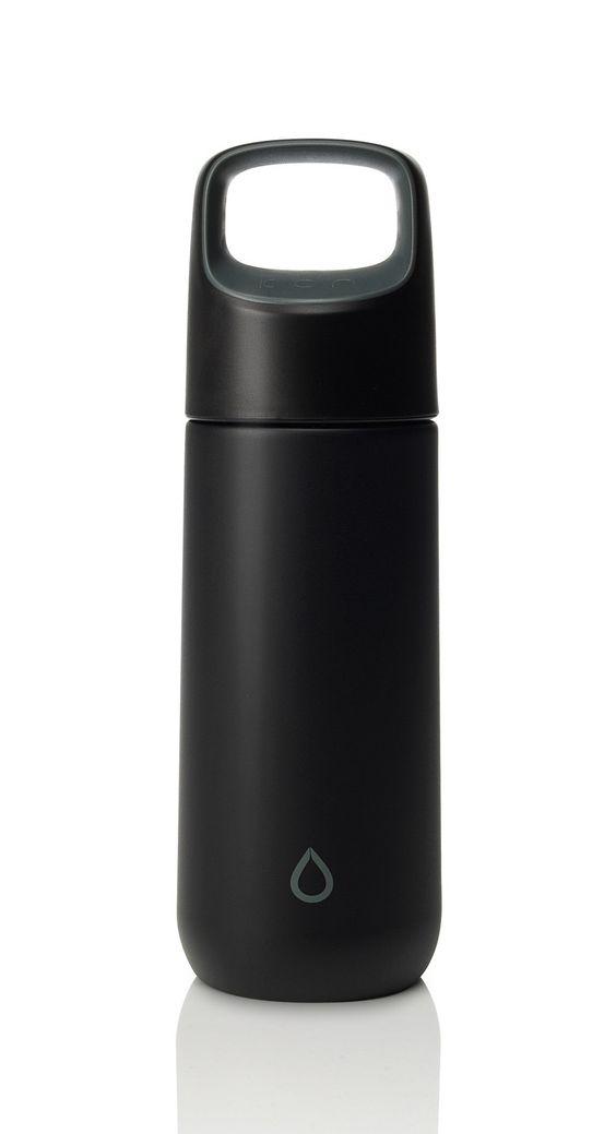Kor vida 500 ml black anthracite technology and for Decor 500ml bottle